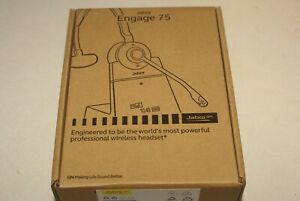 Jabra Engage 75 Convertible Wireless Headset (9555-583-125) Brand New *Open BOX*