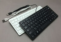 UltraThin Mini Wired USB Keyboard for Desktop PC Laptop Notebook Apple Mac
