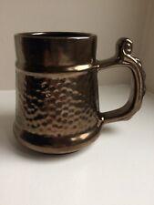 Pewter Lustre Mug / Tankard, Prinknash Abbey Pottery Made in England Height 12cm