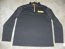 PITTSBURGH STEELERS 1/4 ZIP LONG SLEEVE SHIRT MENS XL BRAND NEW WITH TAGS!