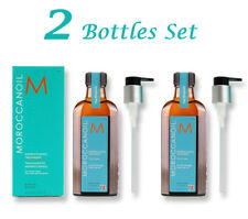 2x Moroccanoil Moroccan Argan Oil Hair Treatment 100ml w/ Pump 2 Bottles AU STK