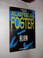 ALIEN Alan Dean Foster Fabbri 1995 La Biblioteca del brivido libro romanzo di