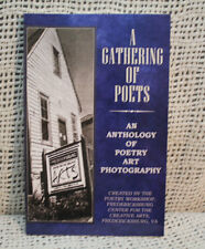 A GATHERING OF POETS anthology of poetry art photography Fredericksburg Virginia