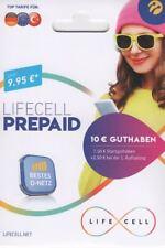 Turkcell lifecell Prepaid Sim Karte inkl. 3GB Internet Flat + 400 Freiminuten