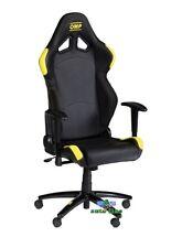 Sedia ufficio Omp Chair nera gialla ha/777e