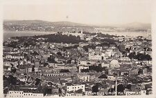 TURKEY - Istanbul - Umum Manzaras - Photo Postcard 1934