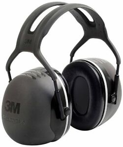 3M X5A Peltor X-Series Over-the-Head Earmuffs, NRR 31 dB, One Size Fits Most