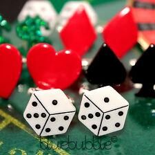 Gambling/Casino Rectangular Cufflinks for Men