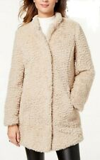 Kenneth Cole faux Fur Coat Leopard print Lining Bnwts xxl