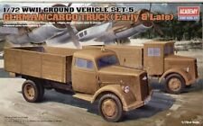 Academy 1/72 WWII German Cargo Truck (Early & Late) # 13404