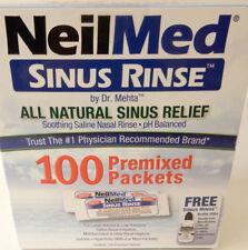Neilmed Sinus Rinse Saline Refill Packets 100CT 705928002005DT