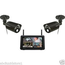 Uniden UDR744HD Outdoor Wireless Cameras w/ 7Inch High Resolution LCD Screen New