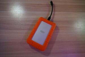2TB LaCie Rugged USB-C 3.0 External Hard Drive