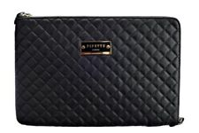 Pipetto Macbook Air 11 Luxury Genuine Handmade Leather Sleeve Case - Black