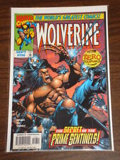 WOLVERINE #116 VOL1 MARVEL COMICS X-MEN ZERO TOLERANCE SEPTEMBER 1997