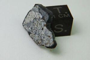 Mreira Meteorite 1.75 Grams FALL 2012 Mauritania L6 TKW 6 kg fusion crust slice