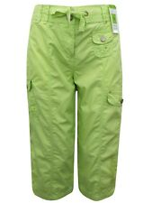 Ladies Womans Marks & Spencers Cropped 3/4 cargo combat trousers 100% Cotton 12