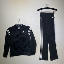 Size 10/12 Medium Youth ADIDAS Track Pants Jacket Set