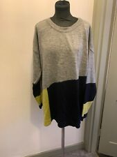 EVANS Colour Block Winter Jumper Size 20 BNWT Read Description