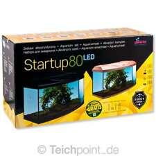 Diversa Aquarium StartUp Set 80 LED, Glasbecken komplett Aquariumset Nano