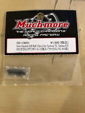 MUCHMORE RACING CERAMIC 3MM DIFF BALLS - FOR 1/10 RC BALL DIFF