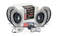 FITS 2002 SUBARU WRX STOPTECH  COMPLETE F & R BRAKE KIT ROTORS + PADS + SS LINES