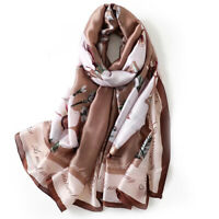 Woman Silk Scarf Luxury Long Shawls 2020 designer Scarves ladies printed wraps