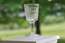 Klein's Nebraska Liquor House Stemmed Shot Glass