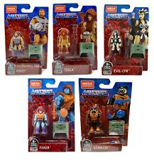 Masters of the Universe MOTU Mega Construx Heroes GPH66-71 Set All 5 Figures