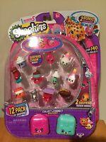 Shopkins season 5 NEW 12 pack 2 bonus charms   in stock!