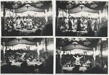 SUMO WRESTLING SET OF 9 PHOTOS. B W IMAGES SHOW CEREMONY AND SPORT.