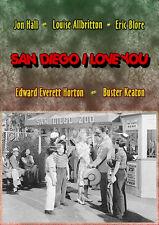 San Diego I Love You (DVD) Jon Hall, Buster Keaton