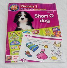 Grade 1 A+ Phonics 1 Workbook with Reward Stickers