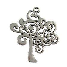 10Pcs Tibetan Silver TREE OF LIFE Charms T15998 FREE SHIP