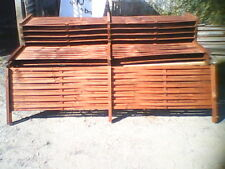 WOVEN FENCE EXTENSION - CEDAR STAINED (SCREENING - TRELLIS) 2400L X 500H