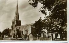 St Mary's Church Harrow Middlesex unused Valentine 1929 real photo postcard