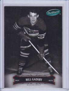 Bill Gadsby 2006 Parkhurst Hockey Card 6 Grade MT