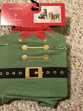 Wondershop XS Pet Dog Cat NWT 10 Lbs Pajamas Pjs Costume Outfit Elf