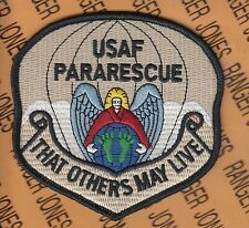 USAF AFSOC Para Rescue beret badge pocket patch 4 inch