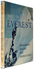 East of Everest signed by authors Hillary and Lowe