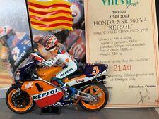 Vitesse 2 Wheels TWX003 Honda NSR 500 Repsol 1999 W/C #3 A Criville LTD ED 1/24