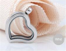 Locket Charms Pendant For Necklace H11 Floating Charm Living Memory Glass Heart