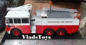 Oxford 1/76 Scale Thornycroft Nubian Foam Tender Glamorgan Fire Service 76TN002