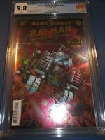 Dark Nights Batman Murder Machine #1 Foil Cover CGC 9.8 NM/M Gorgeous Gem Wow