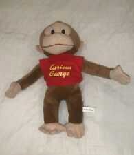"""Curious George 9"""" Plush Toy - Toy Factory"""