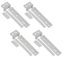 Confezione da 4 ELECTROLUX integrato Frigo e Congelatore porta staffa di montaggio fissaggio vetrino