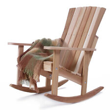 New Western Red Cedar Athena Rocking Chair Outdoor Patio Deck Furniture RC22