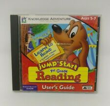 Jumpstart 1st Grade Reading Ages 5-7 CD ROM Educational Version 1.1 For PC & Mac
