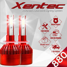 XENTEC LED HID Foglight kit 894 White for 1998-1999 GMC K2500 Suburban