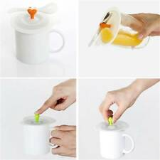 Silicone Sealing Cup Lid Thermal Insulation Tea Water Cup Cover HQ